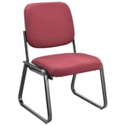 OfficeSource Value Guest Series Sled Base Chair without Arms, Port (2709PORT)