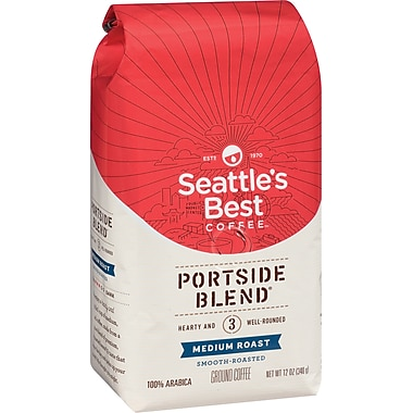 Seattle's Best Coffee® Portside Ground Coffee, Regular, 12 oz. Bag