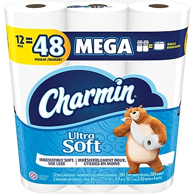Charmin Ultra Soft™ Toilet Paper, 48/Rolls, (94050CT)