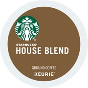 Starbucks® House Blend Coffee, Keurig® K-Cup® Pods, Medium Roast, 24/Box (736087)