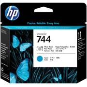 HP 744 Photo Black& Cyan DesignJet Printhead