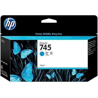 HP745 130-ml Cyan DesignJet Ink Cartridge