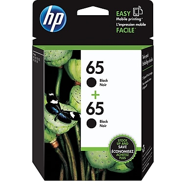 HP 65 Black Original Ink Twin Pack