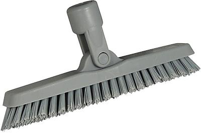 Unger® SmartColor Swivel Corner Brush, Gray, 8 2/3