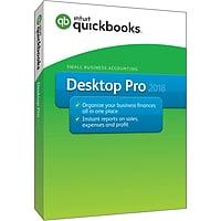 QuickBooks Desktop Pro 2018 (1 User) [Boxed]