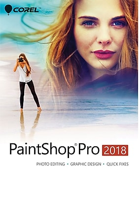 Corel PaintShop Pro 2018 for Windows (1 User) [Download]