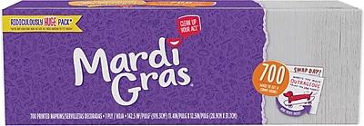 Mardi Gras Disposable Printed Paper Napkins 700ct (43260)