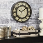 """FirsTime® 8"""" Raised Number Wall Clock"""