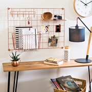 Honey Can Do Copper Grid Wall Kit (SHFX06991)