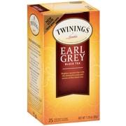 Twinings Earl Grey Tea Bags, 25/BX