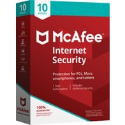 McAfee Internet Security - 10 Devices