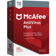 McAfee AntiVirus Plus - 10 Devices