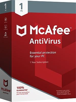 McAfee® AntiVirus 1 PC (1 User) [Boxed]