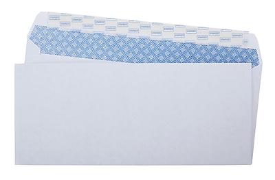 Staples Easy Close #10 Security-Tint Envelopes, 100/Box (394057/19037)
