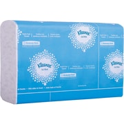 "Kleenex Reveal Multi-Fold Hand Towels, 8"" x 9.4"", White, 2,400 Towels/Case (46321)"
