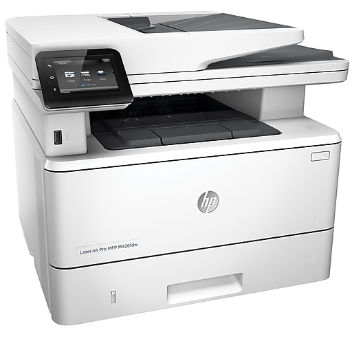 cbae6a9ffd42 HP LaserJet Pro M426fdw All-In-One Wireless Laser Printer with Duplex  Printing (. https://www.staples-3p.com/s7/is/