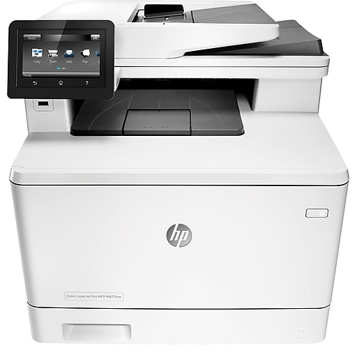 HP M477fnw Color LaserJet Pro Multi-Function Laser Printer | Staples