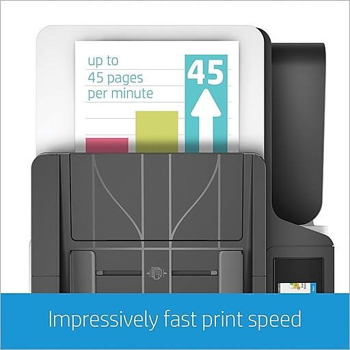 HP PageWide 377dw Color All-In-One Business Printer with Wireless & Duplex  Printing (J9V80A)