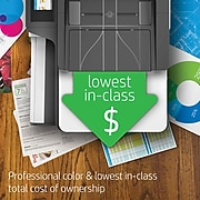 HP PageWide Pro 577dw Color All-In-One Business Printer with Wireless & Duplex Printing (D3Q21A)