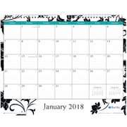 "2018 Blue Sky 11"" x 8.75"" Monthly Wirebound Wall Calendar, Barcelona (100028)"