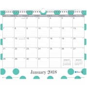 "2018 Blue Sky 15""x12"" Monthly Wall Calendar, Penelope (100657)"