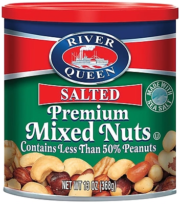 River Queen Premium Mixed Nuts, 13 Oz.,