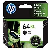 HP 64XL Black High Yield Ink Cartridge (N9J92AN#140)