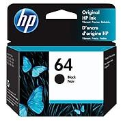 HP 64 Black Standard Yield Ink Cartridge (N9J90AN#140)