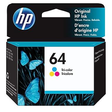 HP 64 Tri-Color Original Ink Cartridge
