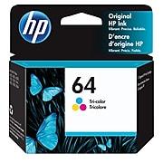 HP 64 Tri-Color Standard Yield Ink Cartridge (N9J89AN#140)