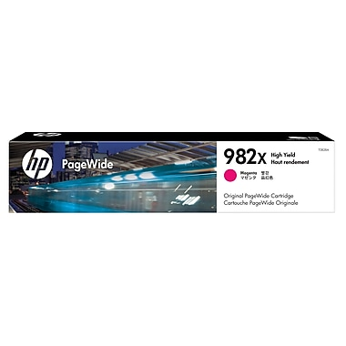 HP 982X High Yield Magenta Original PageWide Cartridge