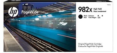 HP 982X High Yield Black Original PageWide Cartridge