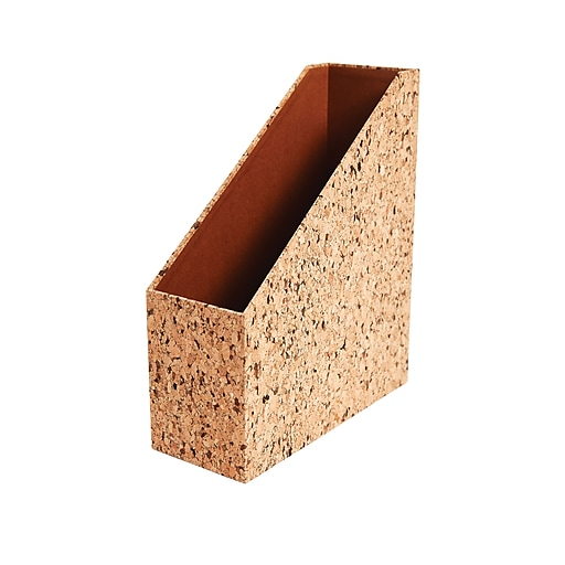 staples magazine file cork paperboard staples