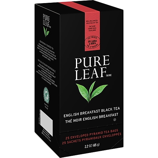 Pure Leaf Tea Bags English Breakfast, 25/Box (ULV72310)