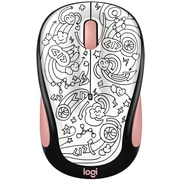 Logitech M325C Wireless Optical Mouse, Ambidextrous, Brainstorm Peach (910-005032)