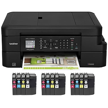 Brother MFC-J775DW XL Color Inkjet All-in-One Printer