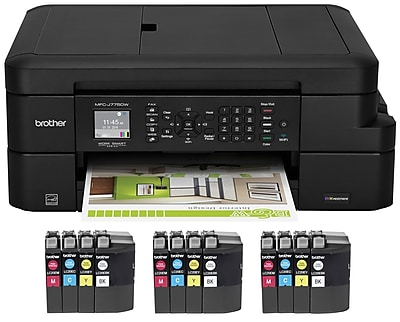 Brother MFC-J775DW XL Color Inkjet All-in-One Printer (MFCJ775DWXL)