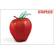 Staples Teacher Apple Gift Card