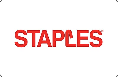 Staples Logo Gift Card $100