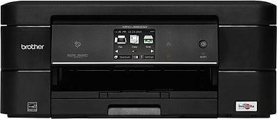 Brother ® Work Smart ™ MFC-J880DW Color Inkjet All-in-One Printer, New