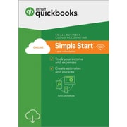 QuickBooks Online Simple Start 2018 for Windows (1 User) [Download]