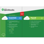 QuickBooks Online Essentials w/ Payroll 2018 for Windows (1 User) [Download]
