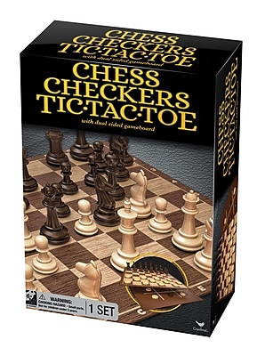 Chess Checkers Tic Tac Toe Game