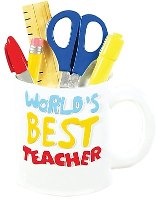 Best Teacher Mug Ornament (OR1390)