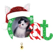 Christmas Cat Frame Ornament (PF1423)