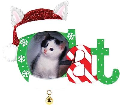 Christmas Cat Frame Ornament (PF1423)