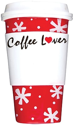 Coffee Lover Cup Ornament (OR1168)