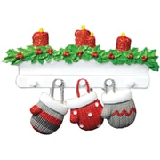 Mitten Family of 3 Ornament (KA968-3)