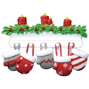 Mitten Family of 5 Ornament (KA968-5)