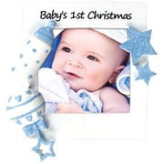Baby's First Christmas-Boy Ornament(PF600-B)